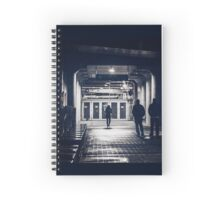 Into the Light Spiral Notebook