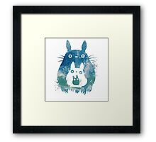 Russian doll - My Neighbor Totoro Framed Print