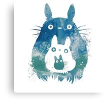 Russian doll - My Neighbor Totoro Canvas Print