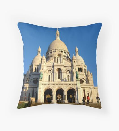 Sacre-Couer Throw Pillow