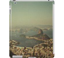 Rio de Janeiro vintage iPad Case/Skin