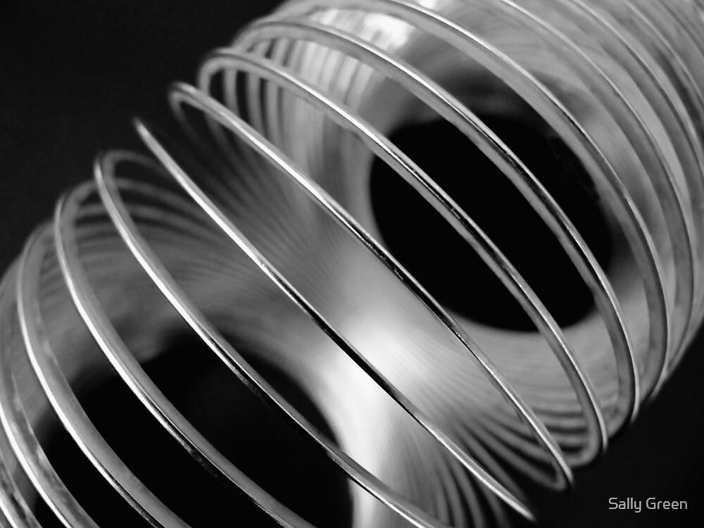 Metal Circles 2 by Sally Green