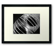 Metal Circles 2 Framed Print