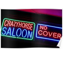 Crazy Horse Saloon Poster