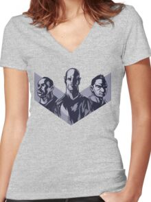 Melbourne Victory - M.A.C. Attack Women's Fitted V-Neck T-Shirt