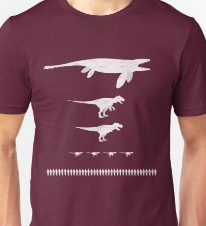 Jurassic World Food Chain light Unisex T-Shirt