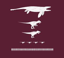 Jurassic World Food Chain light Unisex T-Shirt