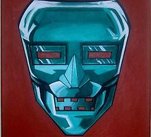 The Mask of Doom! by George Penon