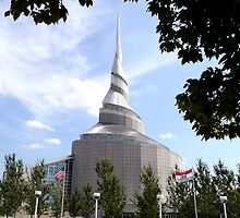 Temple of the Community of Christ, Independence, Missouri by Margaret  Hyde