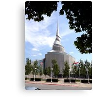 Temple of the Community of Christ, Independence, Missouri Canvas Print