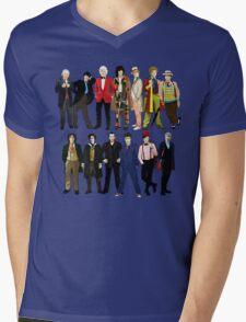Doctor Who - Alternate Costumes 13 Doctors Mens V-Neck T-Shirt