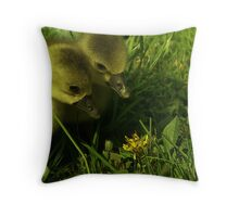 The Gansters Adventure Throw Pillow