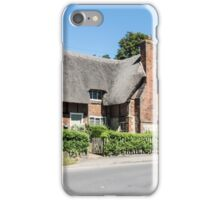 Thatched cottages at Clifton Hampden iPhone Case/Skin