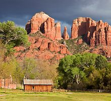 Cathedral Rock, Sedona, AZ (US) by Barb White