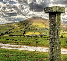 """Boundary Stone In The Peaks"" by Bradley Shawn  Rabon"