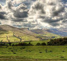"""View towards Edale"" by Bradley Shawn  Rabon"