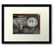 Dry Eye Framed Print