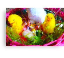 Sweet Easter Basket Canvas Print
