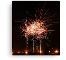 CFA Fireworks Convention #4 Canvas Print