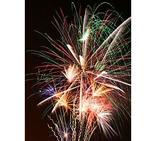 CFA Fireworks Convention #5 Photographic Print