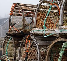 Lobster Nets by Sue  Cullumber