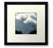 Painted Picture. Framed Print