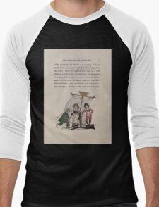 The Queen of Pirate Isle Bret Harte, Edmund Evans, Kate Greenaway 1886 0017 Pirate Ship Men's Baseball ¾ T-Shirt