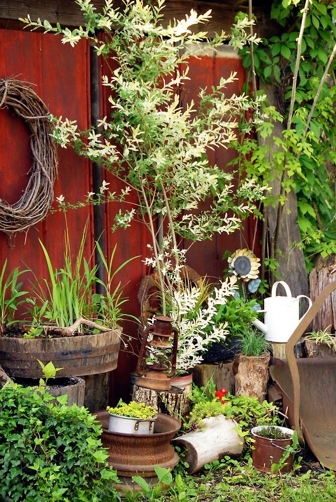 Watering Can by Jeanne Sheridan
