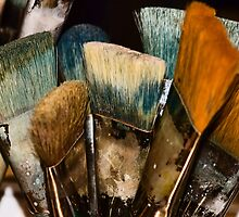 An Artist's Tools by Catherine Fenner