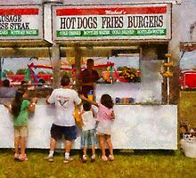 Amusement - Daddy I want a hot dog by Mike  Savad