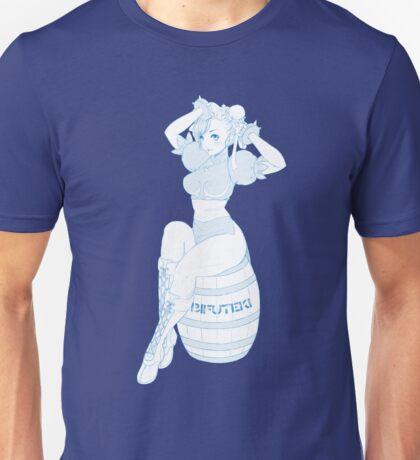 Chun Li Barrel  Unisex T-Shirt