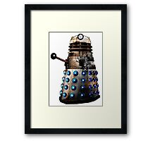 Destroyed Dalek Framed Print