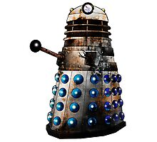 Destroyed Dalek Photographic Print