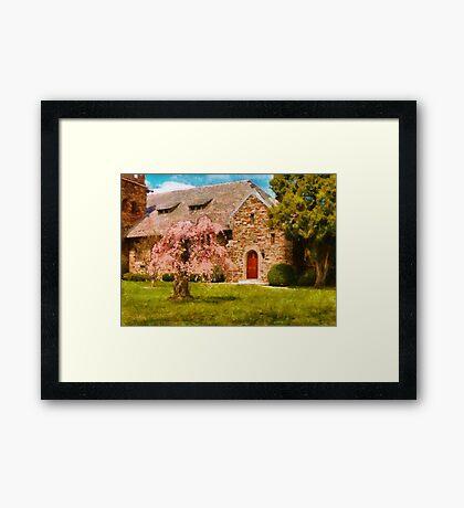 Church - Heaven Created Framed Print