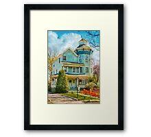 House - The lookout Framed Print