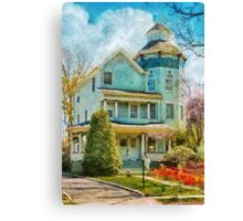 House - The lookout Canvas Print