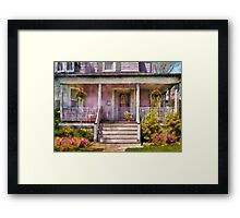 Porch - Grandmotherly love Framed Print