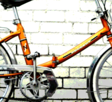 my old bike Sticker