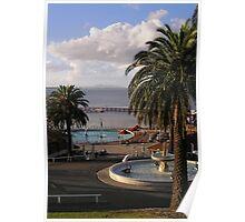 Eastern beach, Geelong Poster