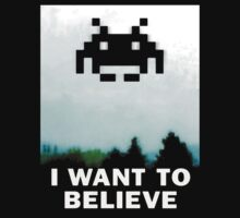 Believe in the Invaders. by RADIOBABY