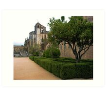 Convent of Christ - Tomar,  Portugal Art Print