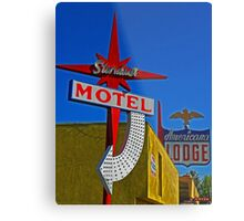 Stardust Motel III Metal Print