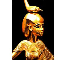 King Tutankhamun and ancient Egypt treasures Photographic Print