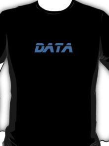 I Love Data - Lieutenant Commander from Star Trek - T-Shirt Sticker T-Shirt