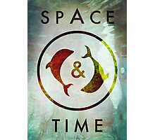 Space & Time Photographic Print