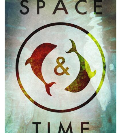 Space & Time Sticker