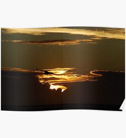 Anzac sunrise Poster