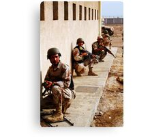 Iraqi Army Training Canvas Print