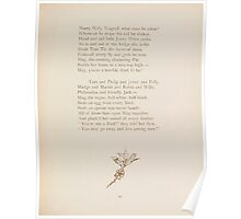 Rhymes for the Young Folk William and Hellen Allingham art Kate Greenaway 0059 Birds Names Poster