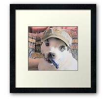 Silly Lilly Framed Print